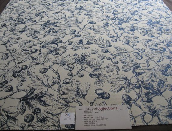 Pierre Deux French Country Fabric Sample in by nancysfabricshop