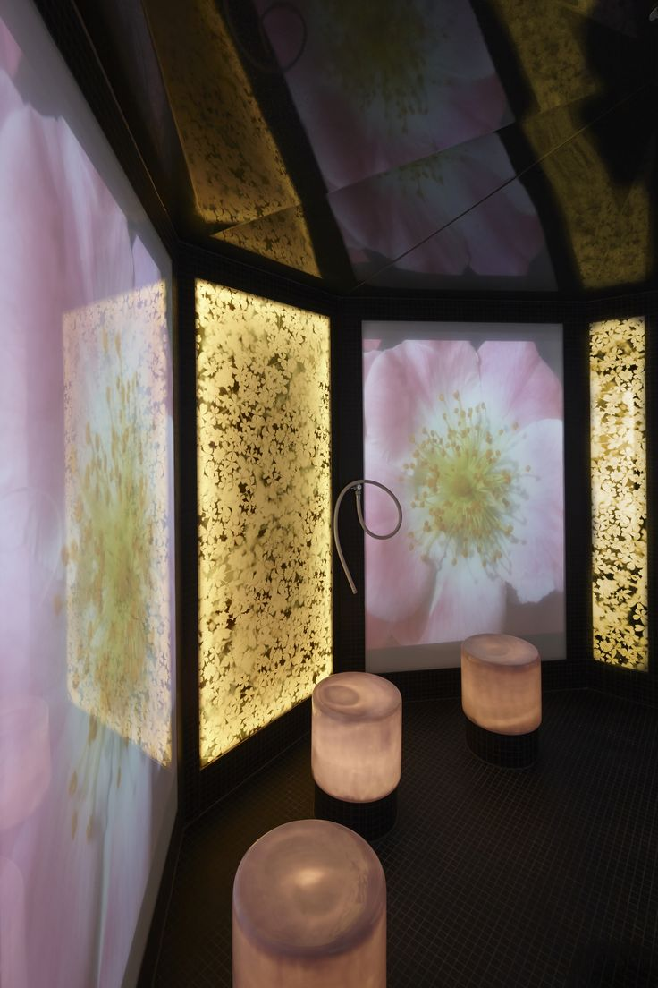 The Aqua Sana Woburn Forest Blossom Steam Room