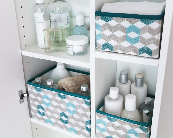 Clear the clutter and take control! Organize everything in your bathroom with the trendiest bath accessories.