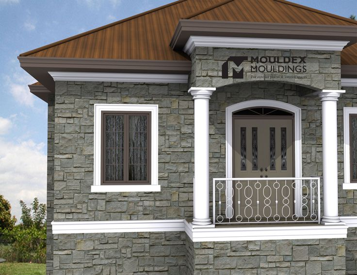 1000 images about exterior moulding combinations on Crown columns