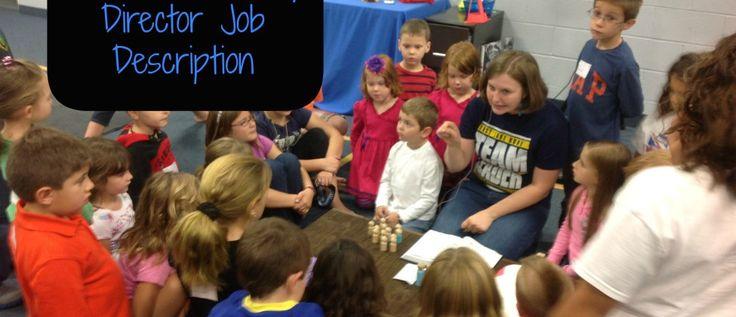 Childrens ministry director job description childrens