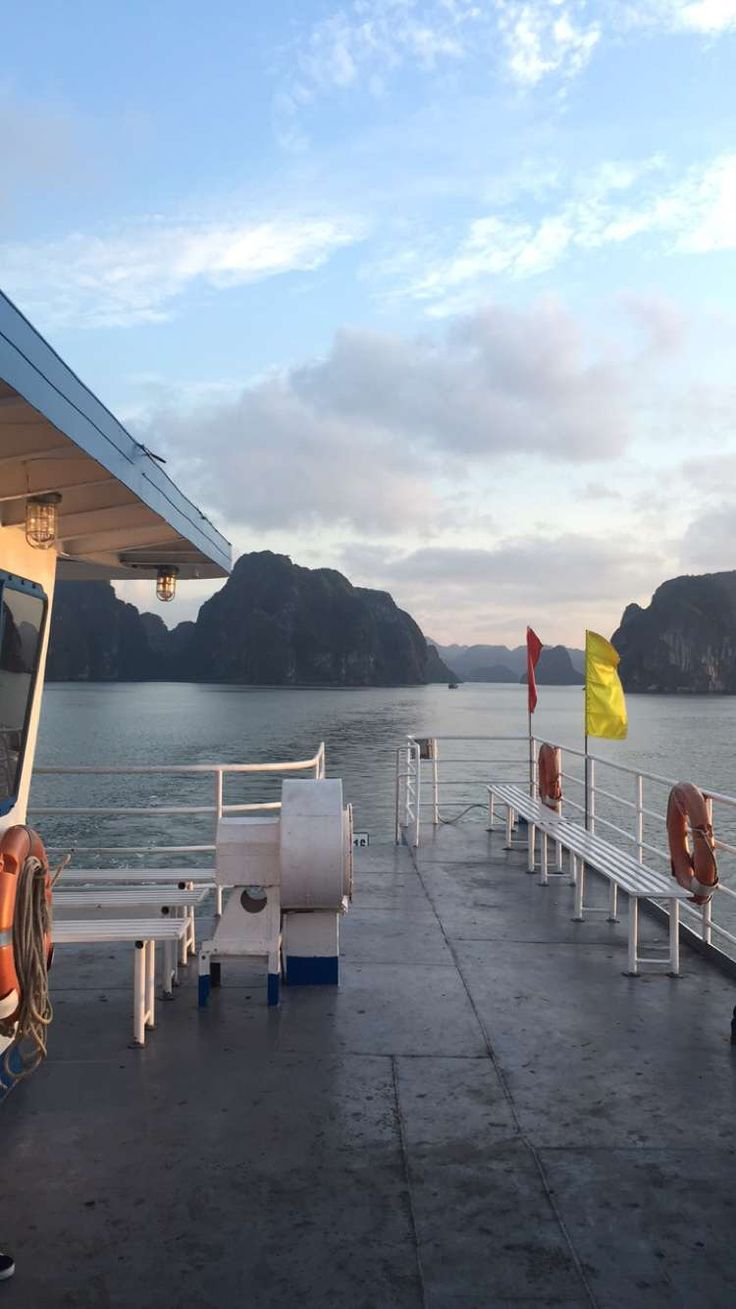 this amazing ferry to ha long bay
