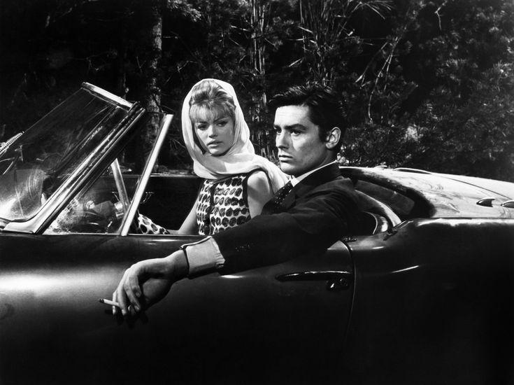 Ален Делон et Карла Marlier ДАНС Mélodie ен су-зол, 1963