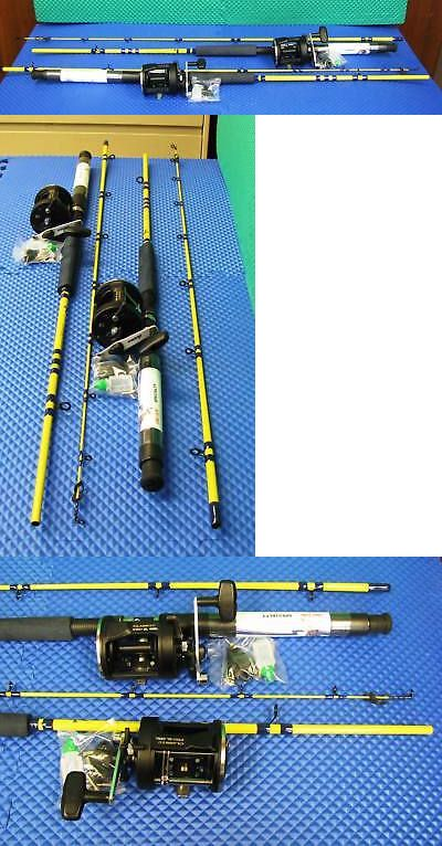 Trolling Combos 179957: Eagle Claw Rod Sf400 - 7 6 With Okuma Reel Cl 452L Combo 2 Pack BUY IT NOW ONLY: $119.99