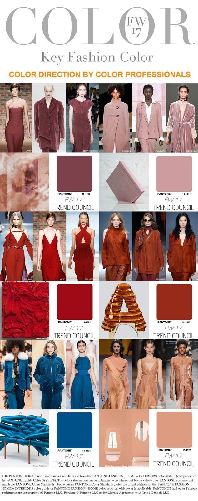 TRENDS // TREND COUNCIL - COLORS . FW 2017