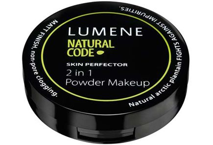 Natural Code by Lumene Skin Perfector 2 in 1 meikkipuuteri 8 g
