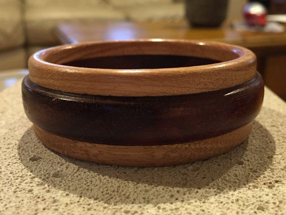 Handcrafted Australian Wood Bangle made from by reborntimber