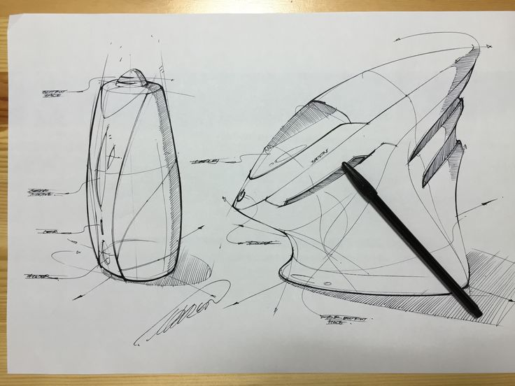 Humidifier concept design sketch
