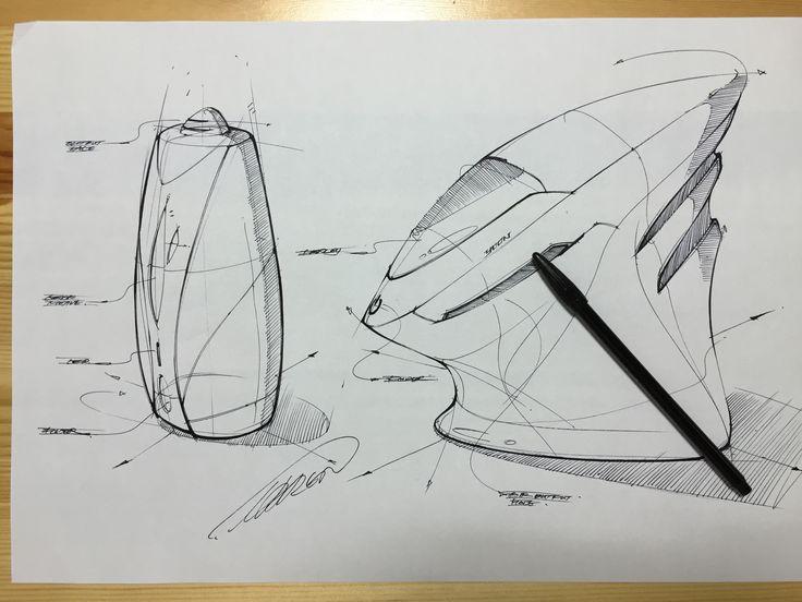 Humidifier concept design sketch
