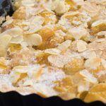 Clafoutis mirabelles et mascarpone
