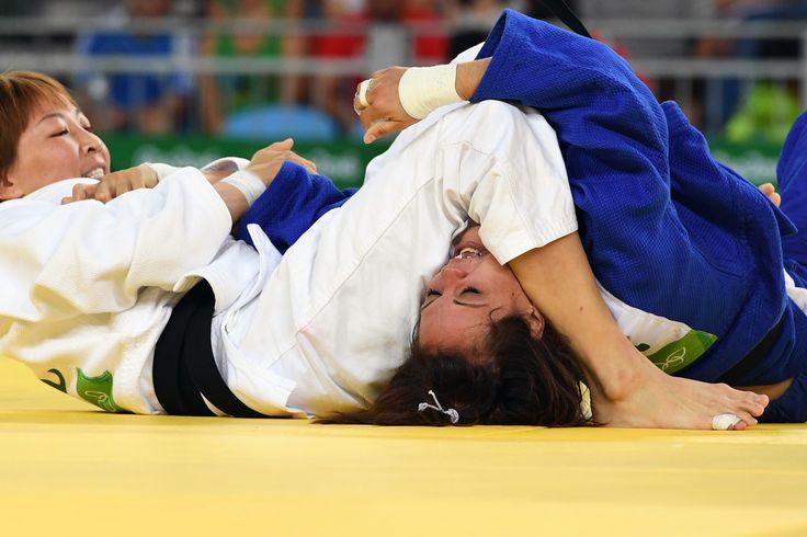 DAY 1:  Women's Judo - Urantsetseg Munkhbat of Mongolia vs Laetitia Payet of France