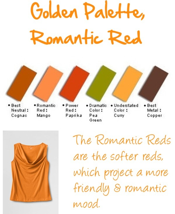 """Golden Palette, Romantic Reds"" by jeaninebyers on Polyvore"