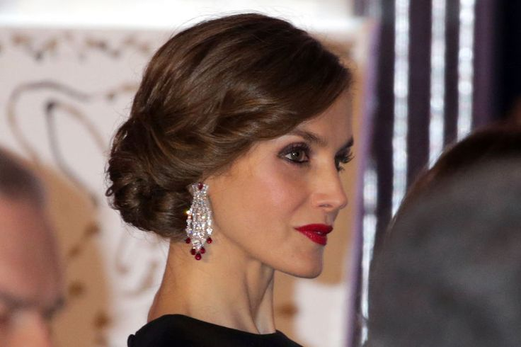 Letizia Et Felipe VI D'Espagne À Madrid, Le 7 Février 2017 12