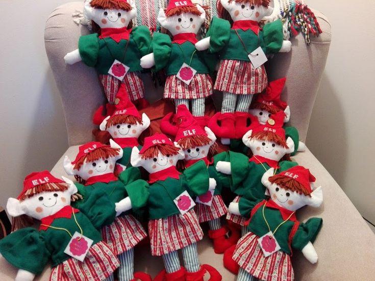 Elfs encomendadas para mascote da Escola