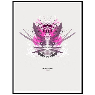 Rorschach Pink emotions
