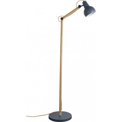 Stojací lampa Study, šedá - Alhambra | Design studio Praha - osvětlení a interiéry