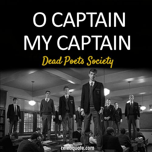 Dead Poets Society (1989) Quote