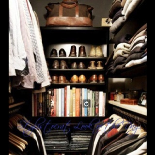 A Mans Closet I Wish It Was My