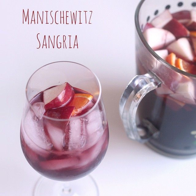 Happy Passover! Want to turn a room of people into Manischewitz lovers? We can help! Click the link in our bio for some clever cocktail ideas. #manischewitzcocktails (Photo: @sqkarn )