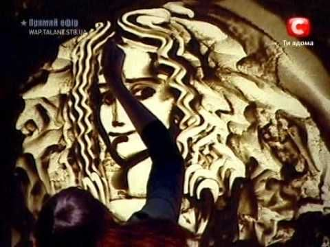 Simonova - Sand animation / Ксения Симонова - песочная анимация - YouTube