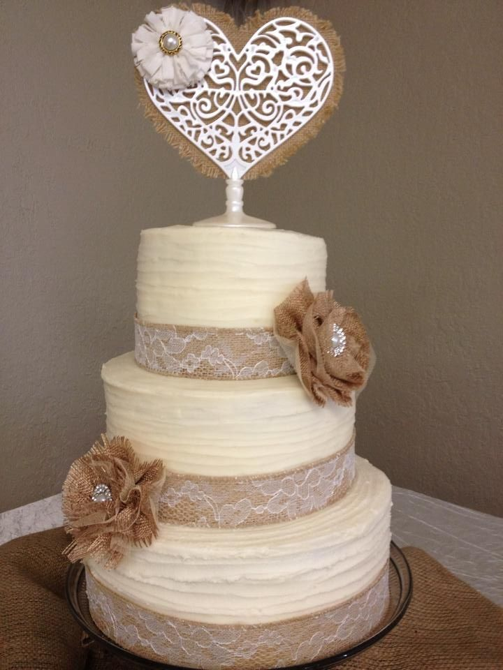 Wedding Cake Decorating Figurines : 85 best images about WEDDING ~ Burlap & Lace on Pinterest