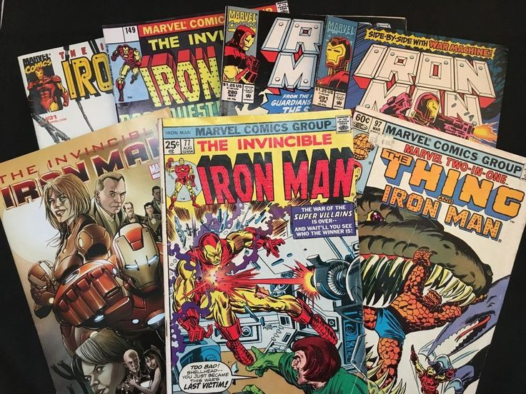 Iron Man 1975 / Issue 500.1 / The Thing / War Machine+ More – 7 Comic Books Set in Books, Magazines, Comic Books | eBay!