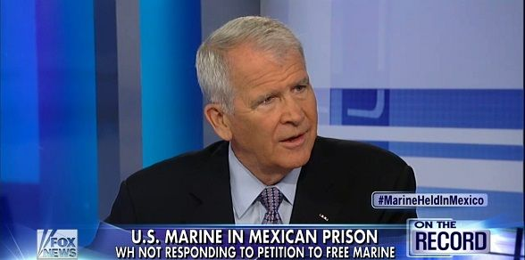 Col. Oliver North Launches Movement to Free Marine Imprisoned in Mexico [WATCH]
