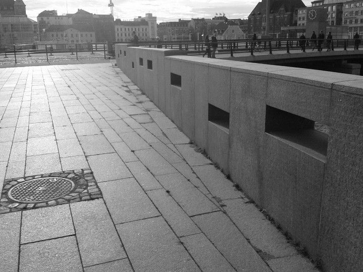 City lines and patterns in Malmö