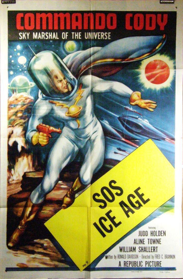Love vintage Sci-fi movie posters. 1953