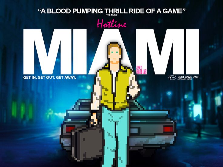 I want a Hotline Miami movie so bad. novogamer.com/88/games-that-would-make-good-movies - Comment #28 added by johnnygat at Hotline Miami - Jacket