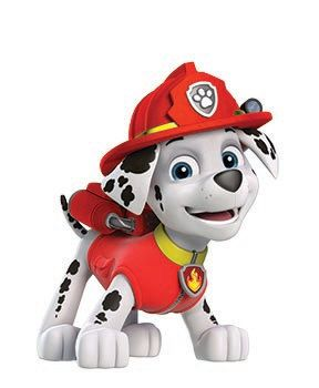 Paw Patrol Marshall, Vinyl Wall Decal, Removable Wall Sticker, Infinite Graphics, by Abby Smith by smithDESIGNZ on Etsy