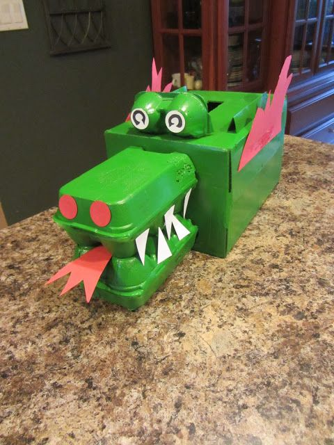 The Graber Gab: Dragon Valentine Box!