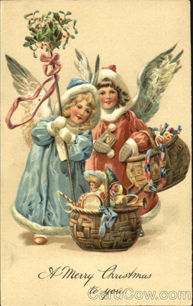 винтажные новогодние открытки картинки - Поиск в Google