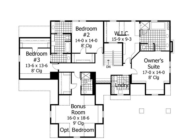 House Plan 42647. Jack And JillThe ...