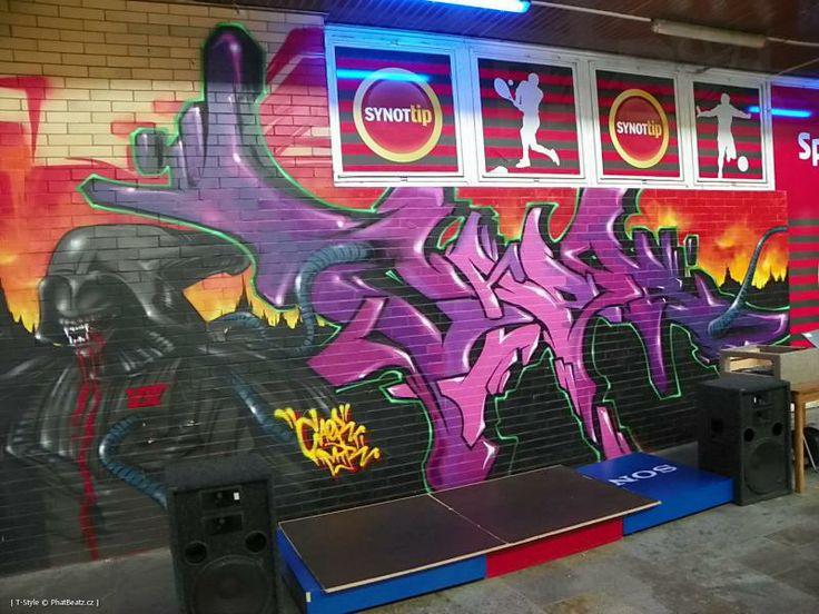 Graffiti Jam - Jižní Pól (28.5.2014)