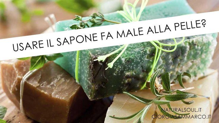 Usare il sapone fa male alla pelle? Scopriamo perchè in questo video. #sapone #cosmeticiecobio #curadellapelle #benessere