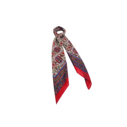 Lenço Inesperada Vermelho #lenços #lenço #scarf #scarfs