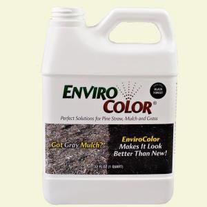 ENVIROCOLOR, 32 oz. Black Forest - Black Mulch Colorant Bottle, 851612002018 at The Home Depot - Mobile
