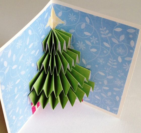 Christmas tree card2
