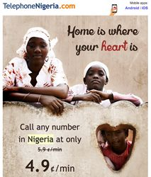 17% OFF on International Calls to Mobiles and Landlines in Nigeria with TelephoneNigeria.com   On Nigeria's Independence Day anyone holding a free account on TelephoneNigeria.com can save 17% on international calls to landlines and mobiles in Nigeria.  Atlanta Georgia (PRWEB) October 01 2015  Nigerian expats worldwide get 17% OFF on all their calls to Nigeria on October 1st Nigeria's Independence Day. The offer is available on TelephoneNigeria.com for people who had at least one minimum…