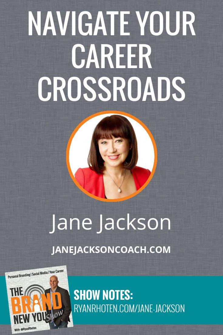 If you are currently navigating through a career crossroad, tune in as Jane Jackson and I discuss how do to just that. http://ryanrhoten.com/jane-jackson