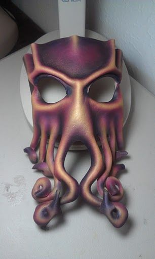Another Cthulhu mask by ~ParkersandQuinn on deviantART