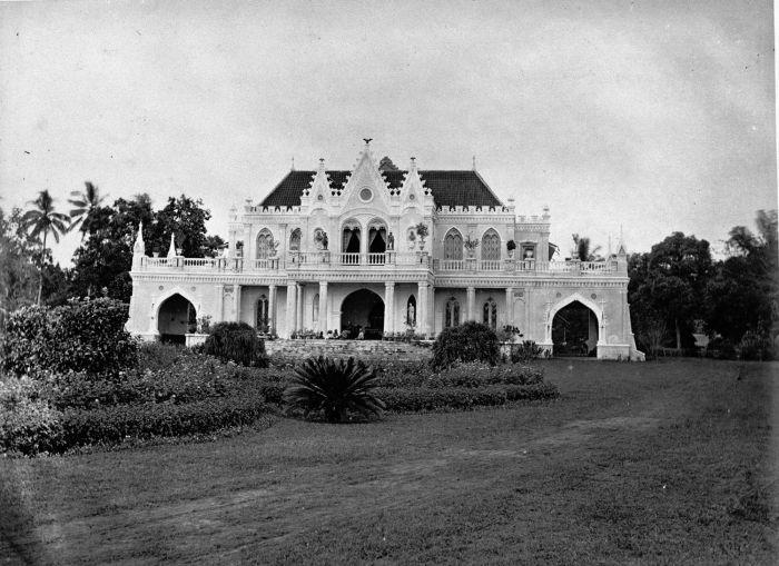 Rumah Raden Saleh di Batavia tahun 1875-1885 (sekarang Rumah Sakit PGI Cikini) sugih tenan