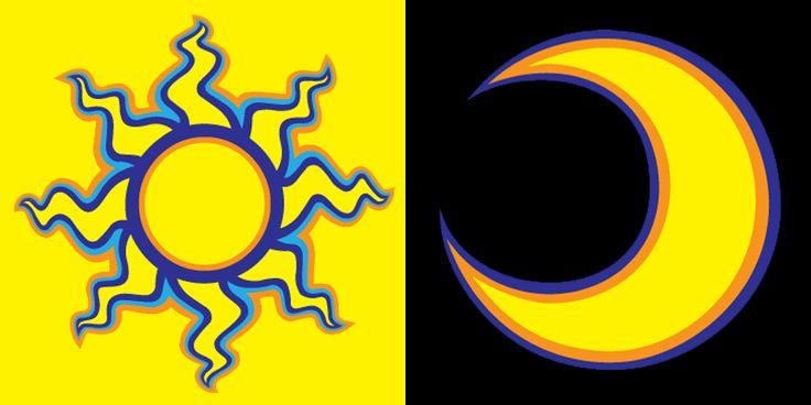Valentino Rossi Sun Moon 2004