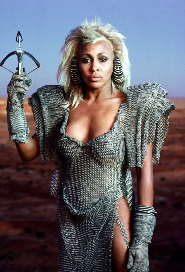 "fuckyeahsavagesistas: "" Tina Turner as Aunty Entity in MAD MAX BEYOND THUNDERDOME – 1985 """