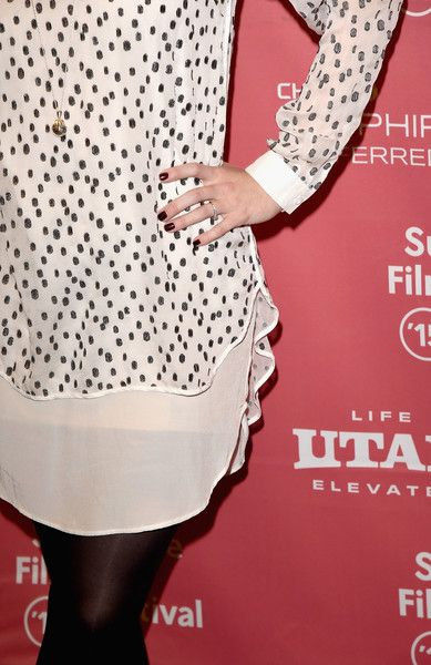 "Alexandra Breckenridge Photos Photos - Actress Alexandra Breckenridge (fashion detail) attends the ""Zipper"" premiere during the 2015 Sundance Film Festival on January 27, 2015 in Park City, Utah. - 'Zipper' Premieres at Sundance"