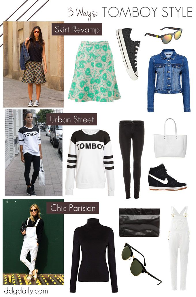 Tomboy Style Ditch The Glamour Girl With These 3 Looks What To Wear Fashion Daily Feature