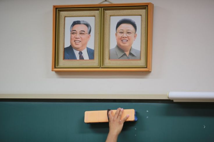 Kim Il Sung KIm Jong Il My AP Story today https://www.apnews.com/73db9c48785940aeac4a8ced63785606/North-Koreans-in-Japan-loyal-to-roots-amid-discrimination