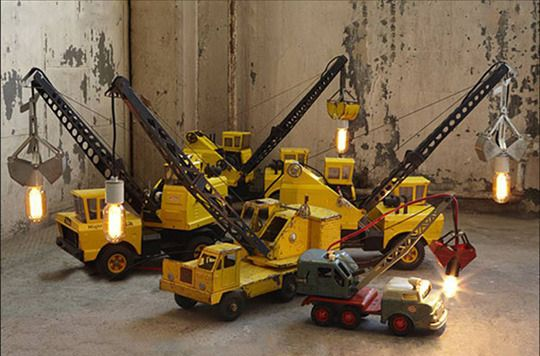 Repurposed toys  I am rescuing one of my son's Tonka trucks and will make him one of these!