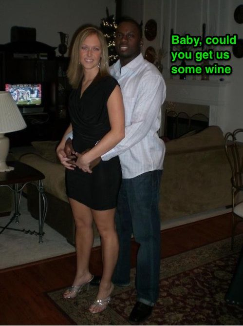 Wife black bred